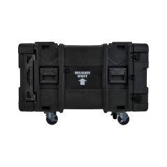 "SKB 8U Roto Shockmount Rack Case, 4 Wheel - 30""/760 mm Depth"