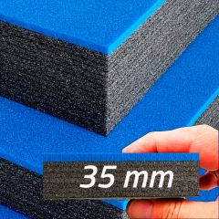 Multilayer Foam With Blue Top 35 mm (800x625x35mm)
